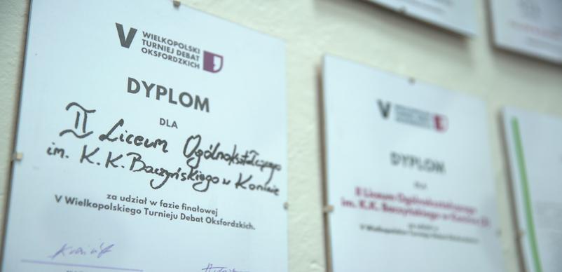 Kolejny sukces II Liceum Ogólnokształcącego w Koninie