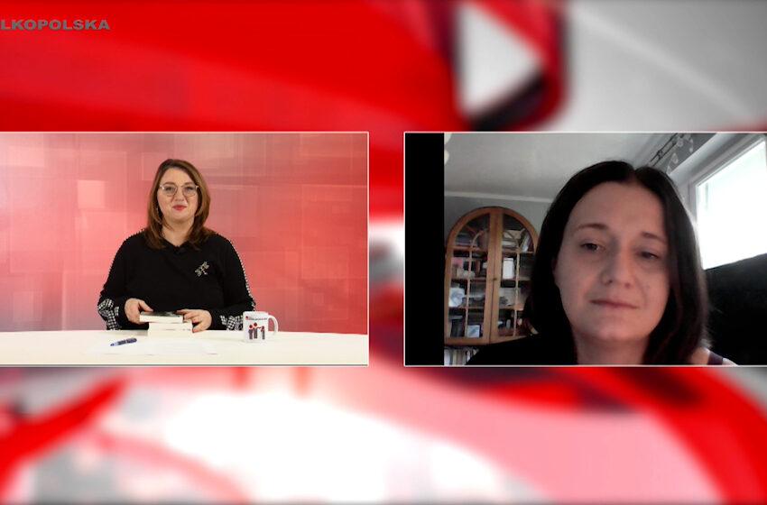 Spotkania kulturalne w TV Wielkopolska – Aniela Wilk