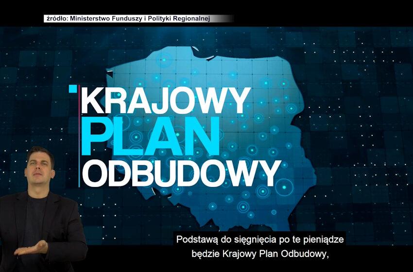 Krajowy Plan Odbudowy w fazie negocjacji
