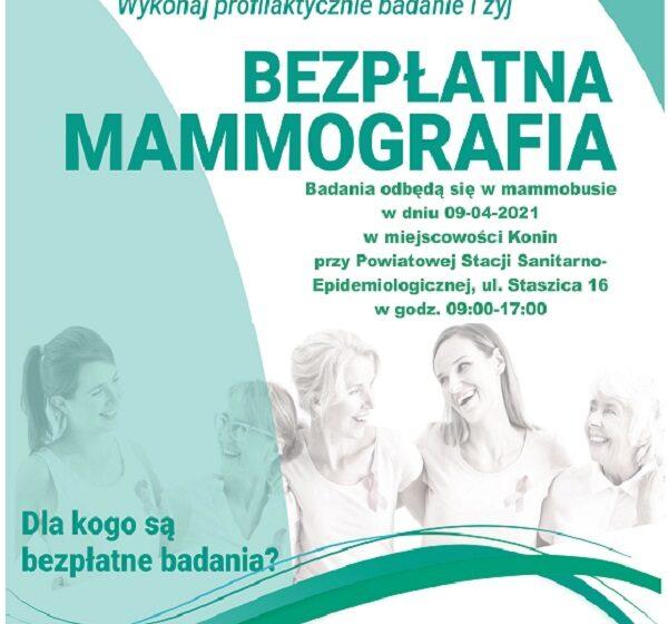 Badania mammograficzne w Koninie