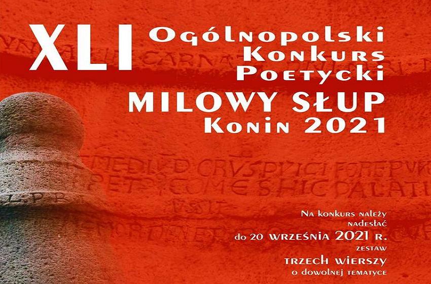 """Zgłoś się do Ogólnopolskiego Konkursu Poetyckiego """"Milowy Słup"""""""