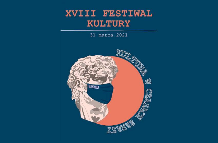 XVIII Festiwal Kultury w II LO w Koninie – w tym roku w całkiem innym wydaniu