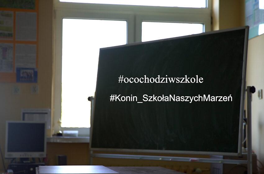 """""""O co chodzi w szkole"""" – ogólnopolska akcja"""