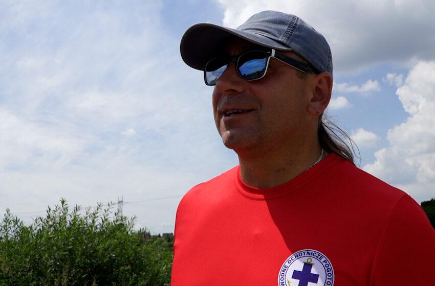 Ratownik WOPR uratował mamę i dwoje dzieci