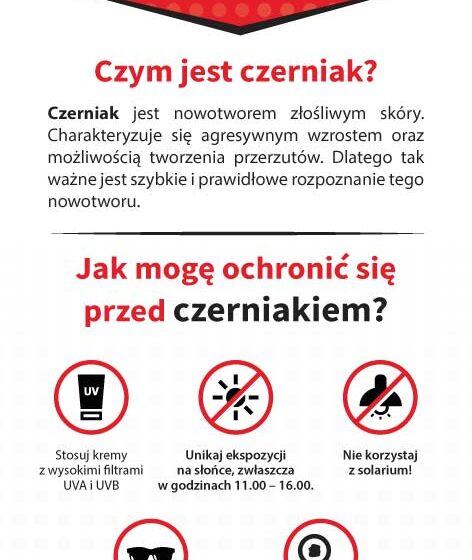 Ostrów Wielkopolski: Badania przesiewowe w kierunku czerniaka