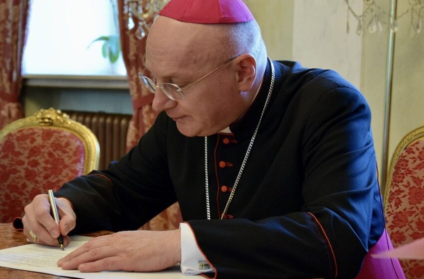 Bp Krzysztof Wętkowski objął diecezję włocławską