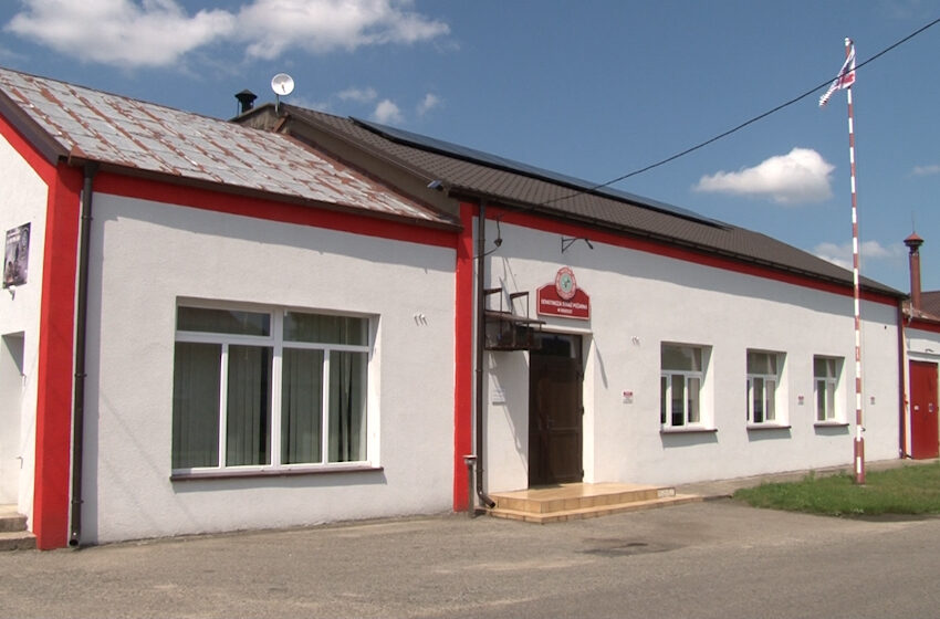 Dumni z historii Rosochy – odnowienie remizy wiejskiej i terenu wokół