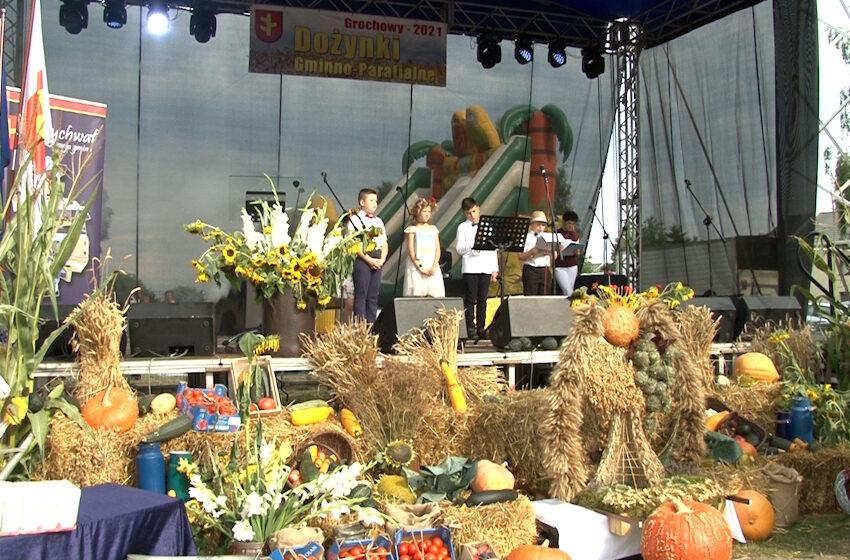 Rolnicy z gminy Rychwał podziękowali za plony