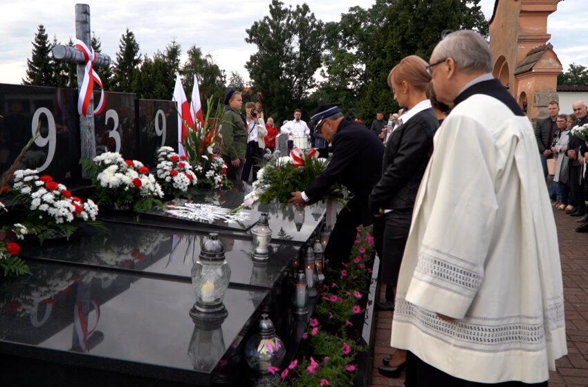 Upamiętnienie ofiar II Wojny Światowej w Grzegorzewie