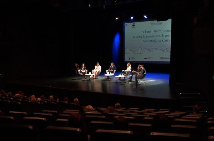 Sprawiedliwa Transformacja przedmiotem międzynarodowej dyskusji podczas forum w Koninie