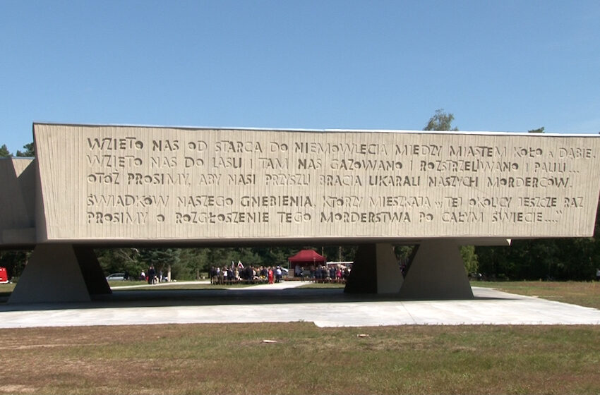 Chełmno: przejmująca uroczystość ku czci pomordowanych