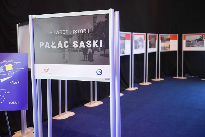 Wystawa PAP: unikalne przedwojenne fotografie Pałacu Saskiego