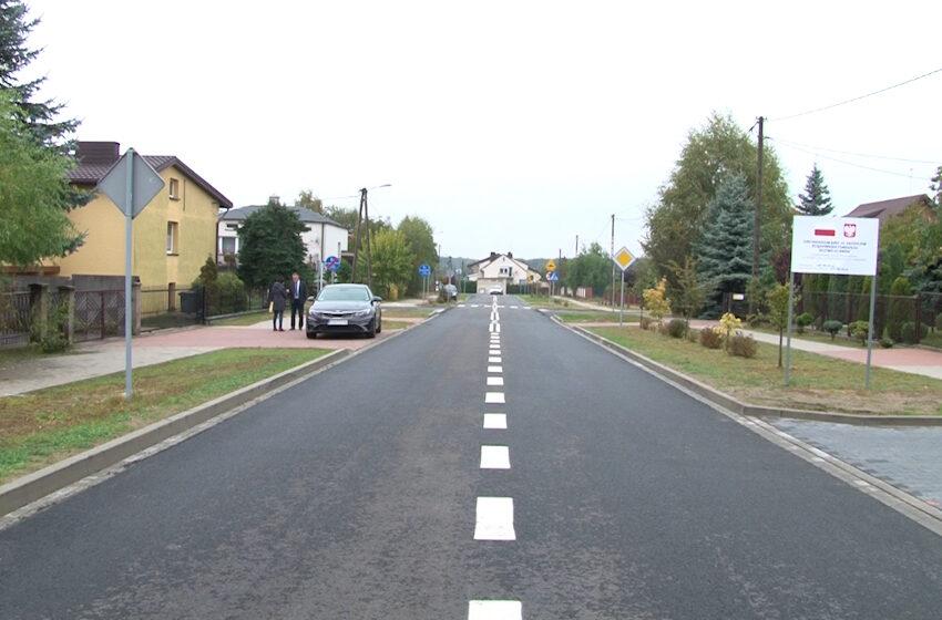 Mieszkańcy Tuliszkowa cieszą się z wyremontowanej drogi