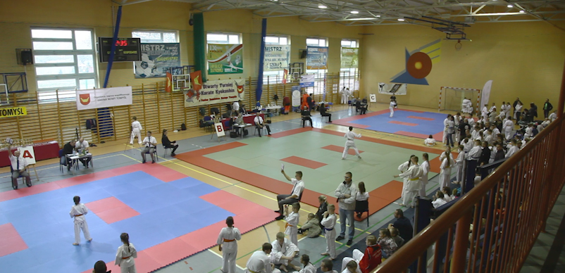 Nowy Tomyśl: II Otwarty Turniej Karate Kyokushin