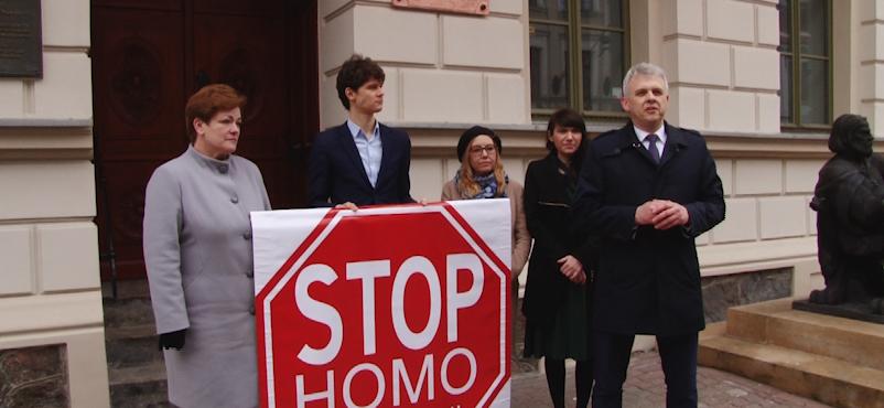 Stop homo promocji-protest w Gnieźnie