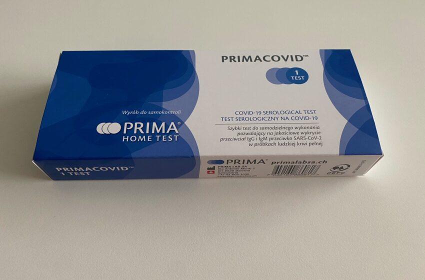 W Biedronce będzie można kupić testy na obecność przeciwciał COVID-19