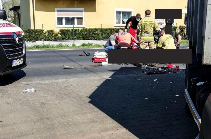 Śmiertelny wypadek w Kobylinie