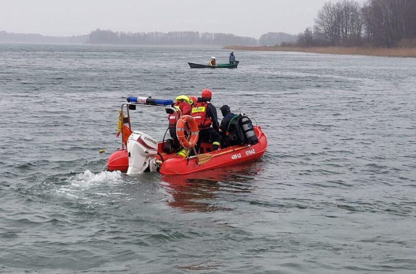 Akcja ratownicza w Skorzęcinie