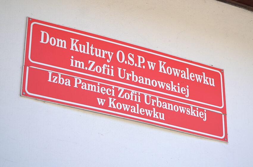 Kowalewek świętuje imieniny i urodziny Zofii Urbanowskiej