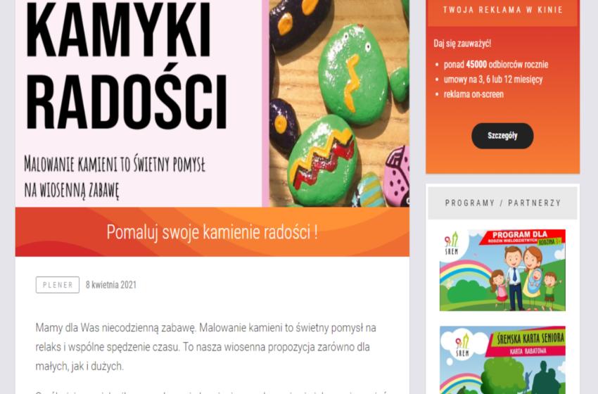 """Śremski Ośrodek Kultury gromadzi """"Kamyki radości"""""""