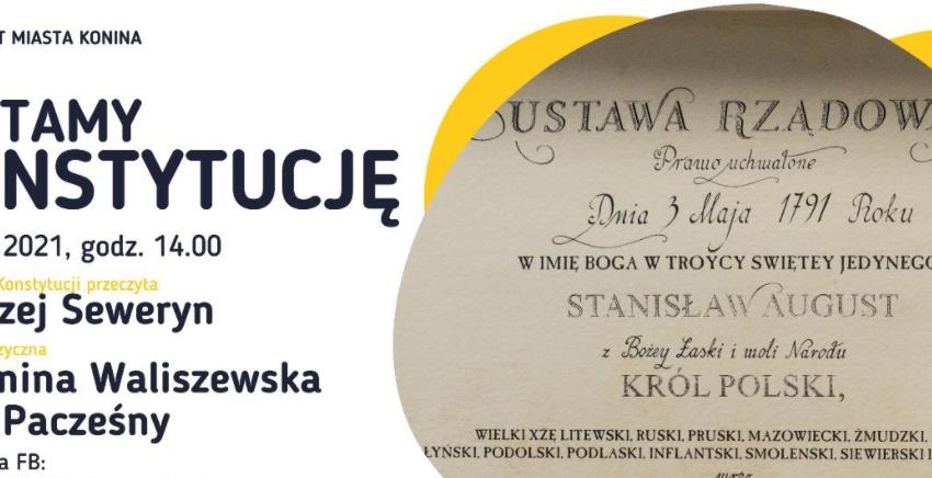 KONIN: #CzytamyKonstytucję z Andrzejem Sewerynem
