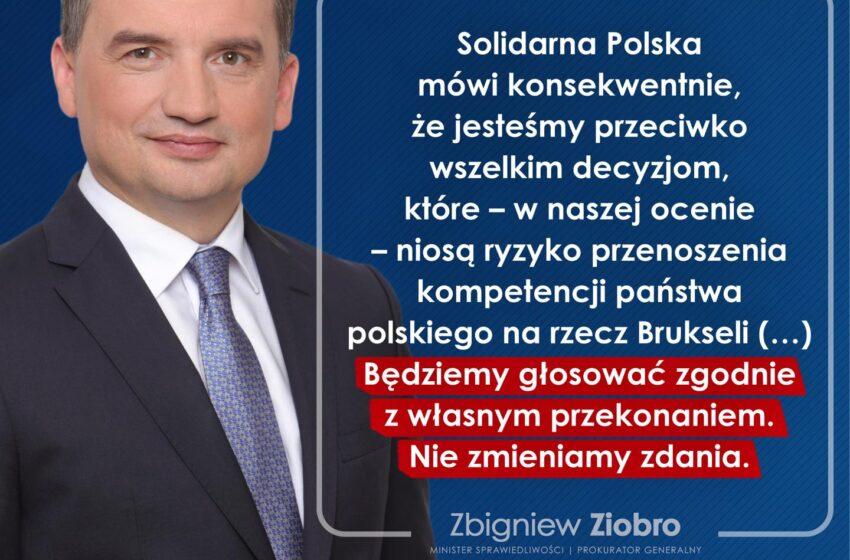 Sejm za ratyfikacją w sprawie Funduszu Odbudowy