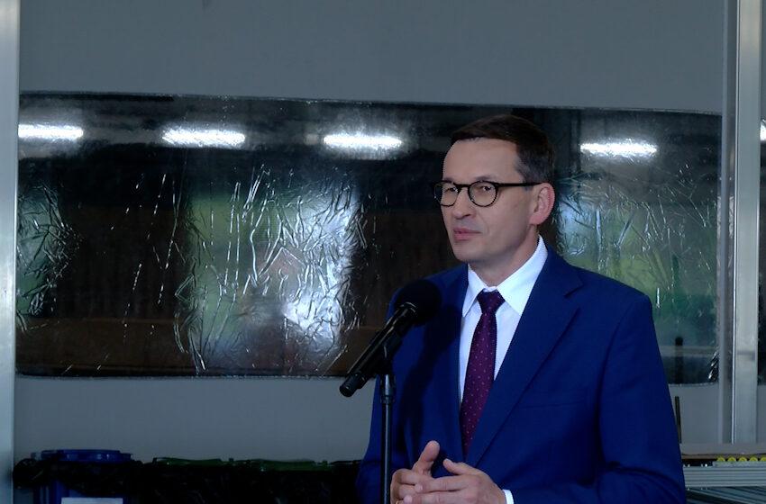 Premier w Turku mówił o kondycji polskiej gospodarki