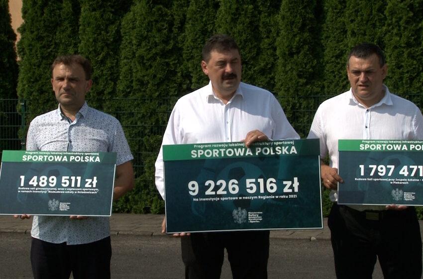Ponad 9 milionów zł otrzymał Powiat Turecki z programu Sportowa Polska