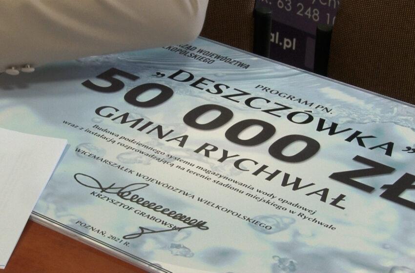 Samorząd województwa wyda milion złotych na magazynowanie wody