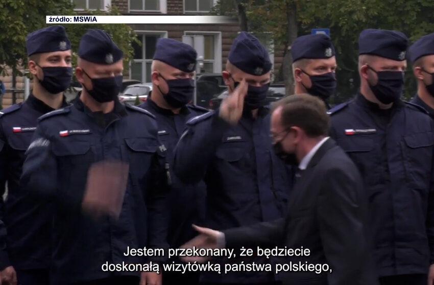 Poznańscy policjanci z misja na Litwę